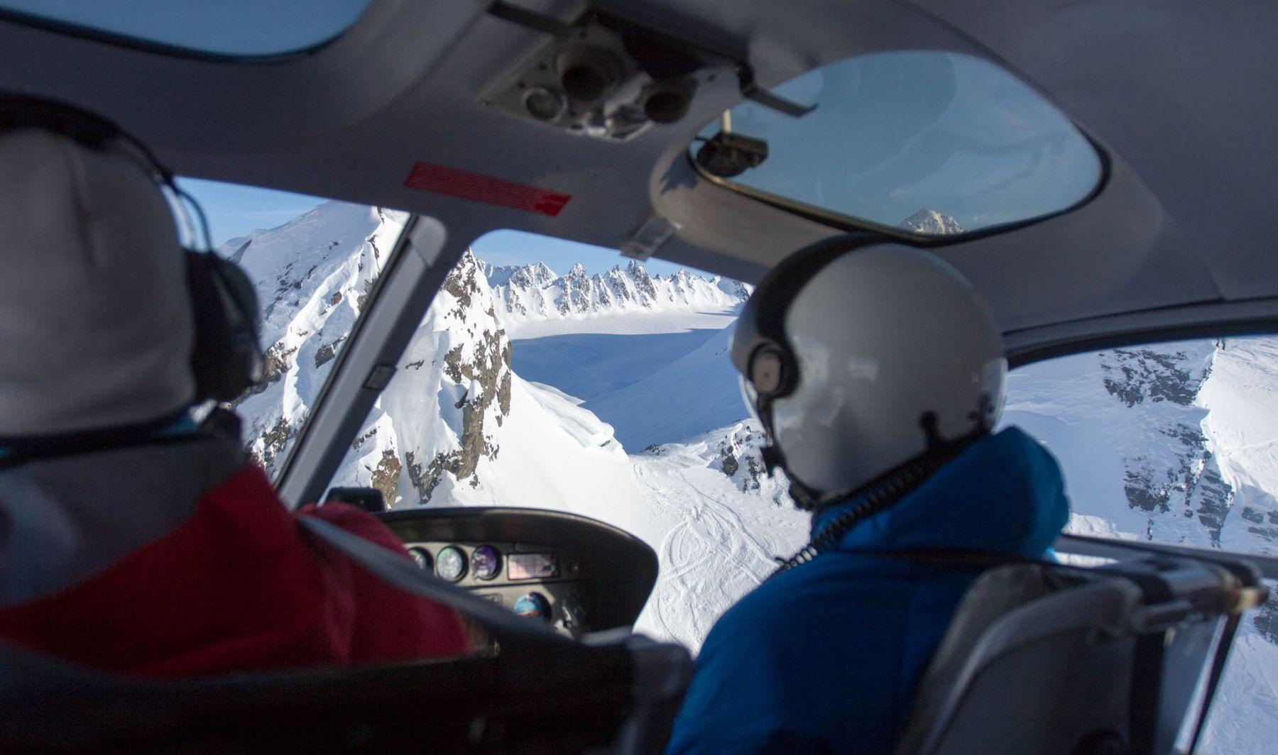 Héliski en Alaska avec Luc Alphand