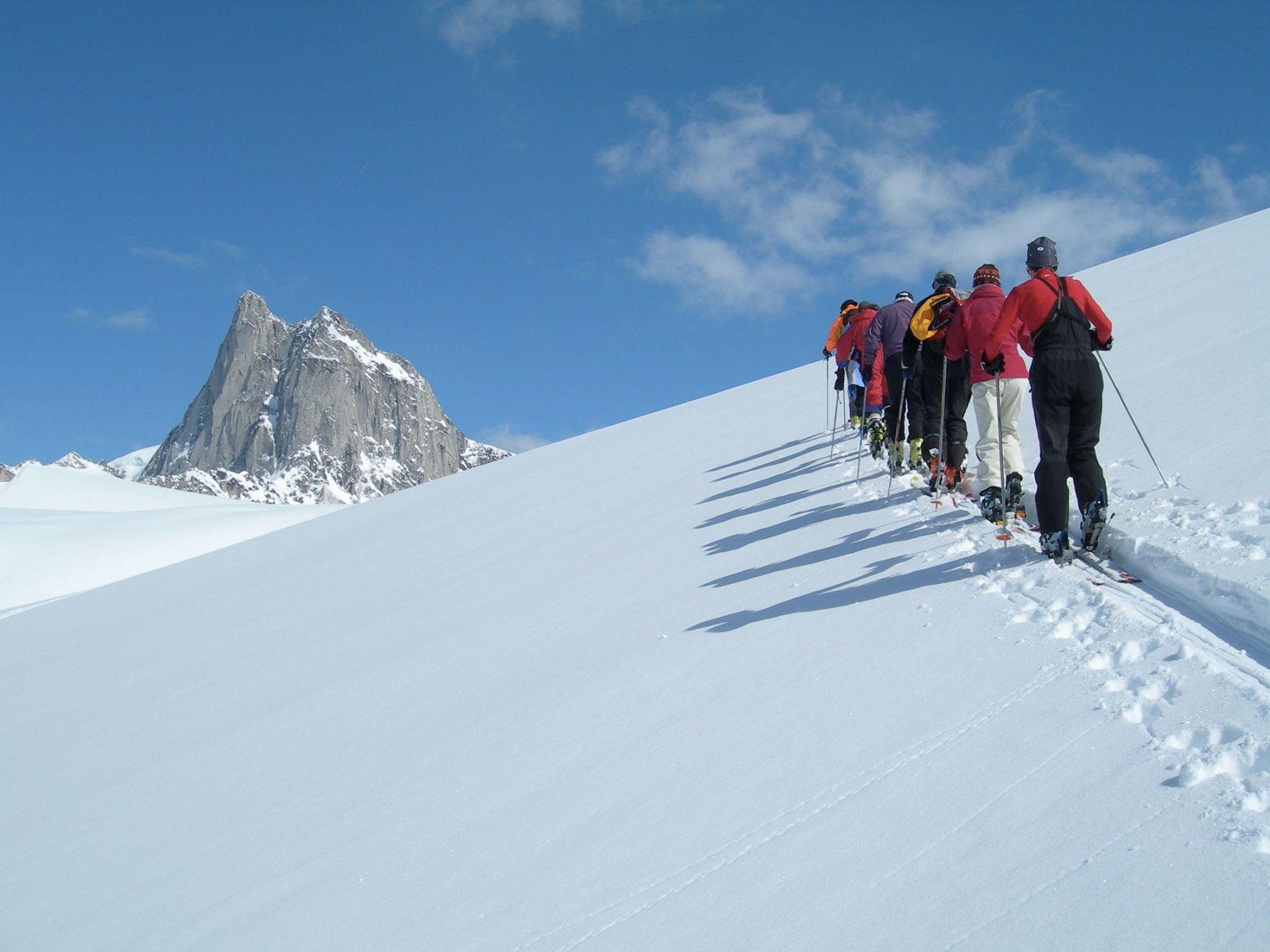 Héliski et ski de rando Rocheuses