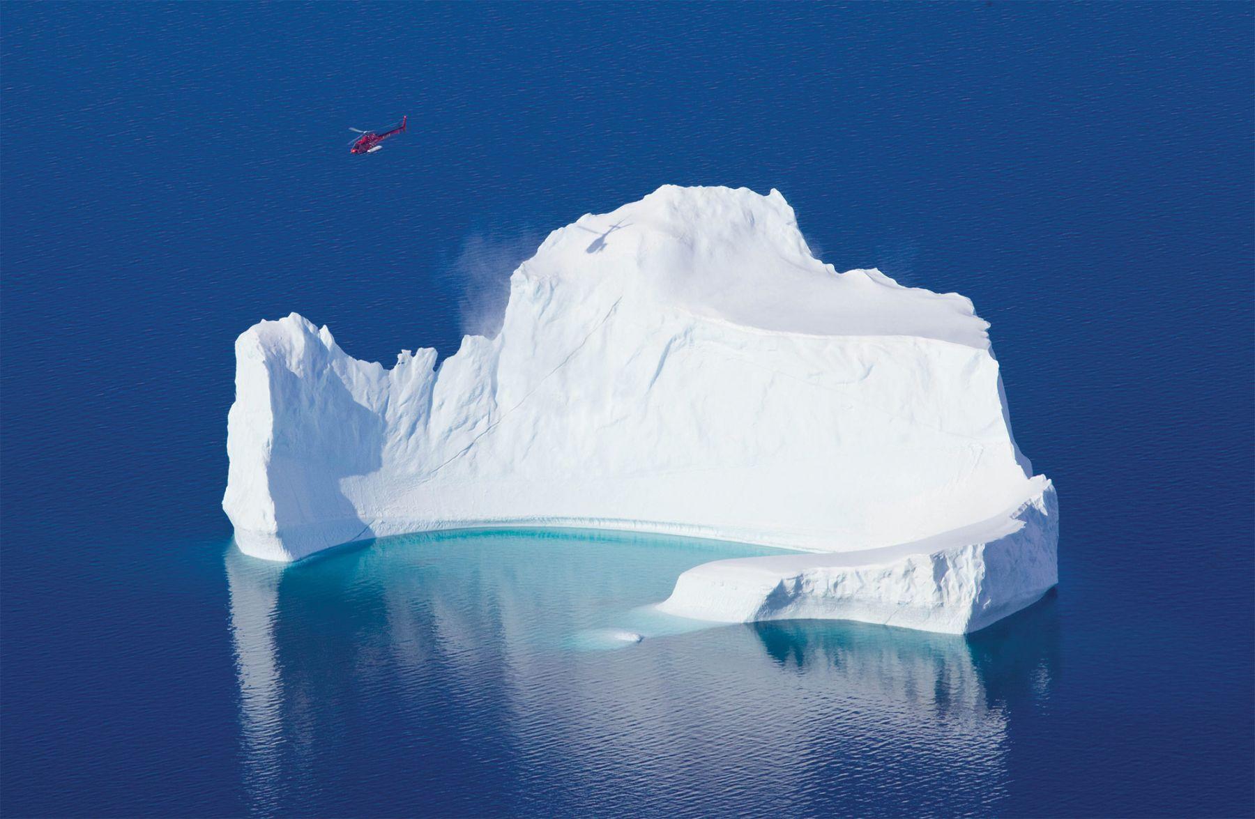 Heliski au Groenland