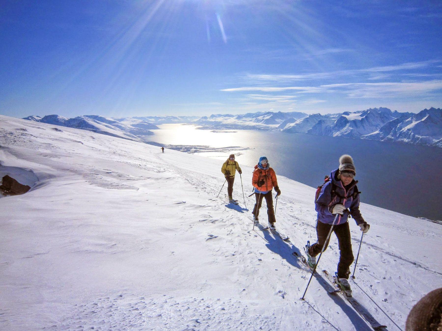 Ski-Voile Norvège