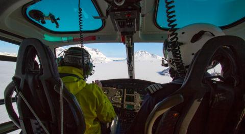 Héliski Groenland