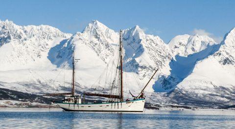 Ski-Voile en Norvège