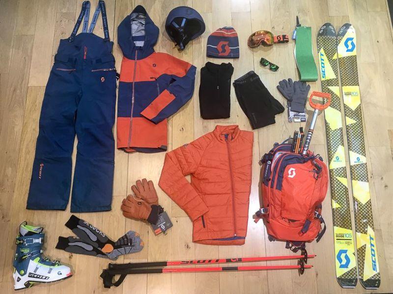 Equipement ski de randonnée Scott