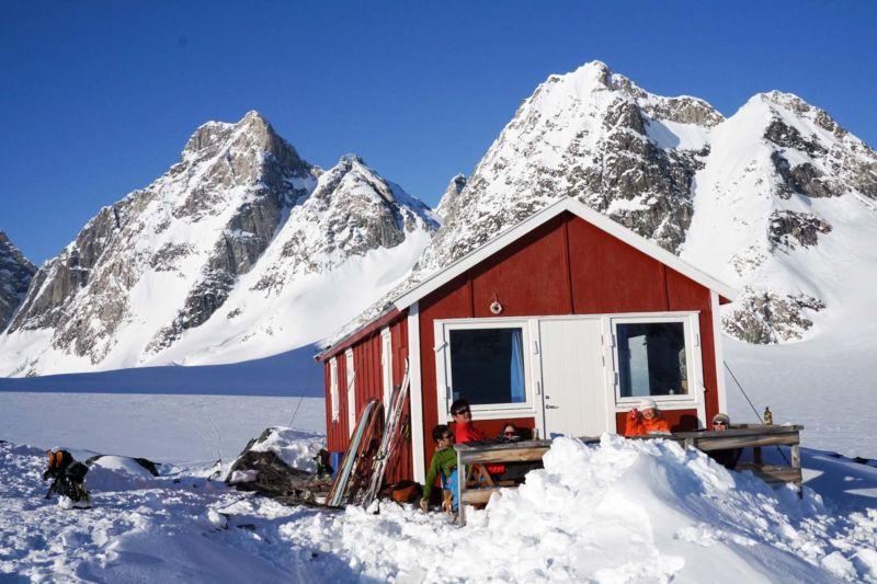 cabane Ski de randonnée Groenland