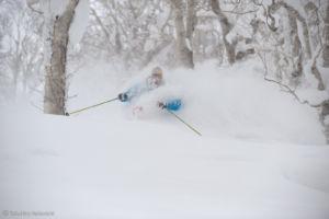 ski hors pistes Hokkaido