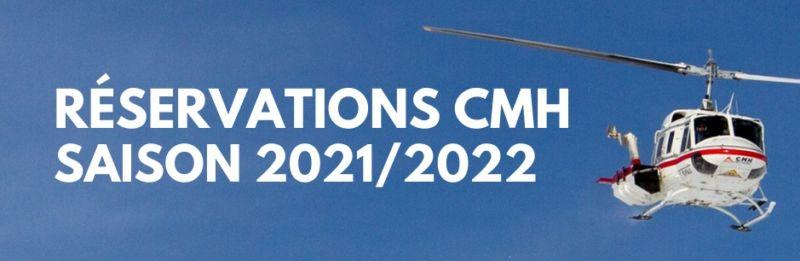Réservations CMH 2021/2022