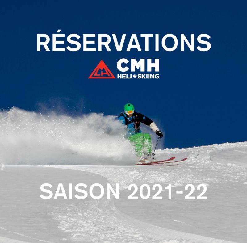Reservations CMH Heliskiing 2022