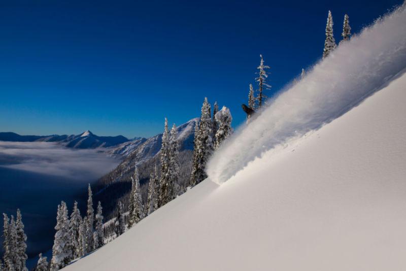 Héliski Canada en janvier - février